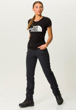 WOMENS EASY TEE - T-shirts print - black