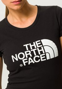 The North Face - EASY TEE - Printtipaita - black - 4