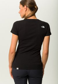 The North Face - EASY TEE - Printtipaita - black - 2