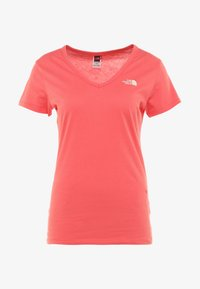 The North Face - SIMPLE DOME TEE - T-shirt basic - spiced coral - 4