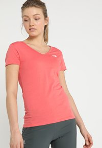 The North Face - SIMPLE DOME TEE - T-shirt basic - spiced coral - 0