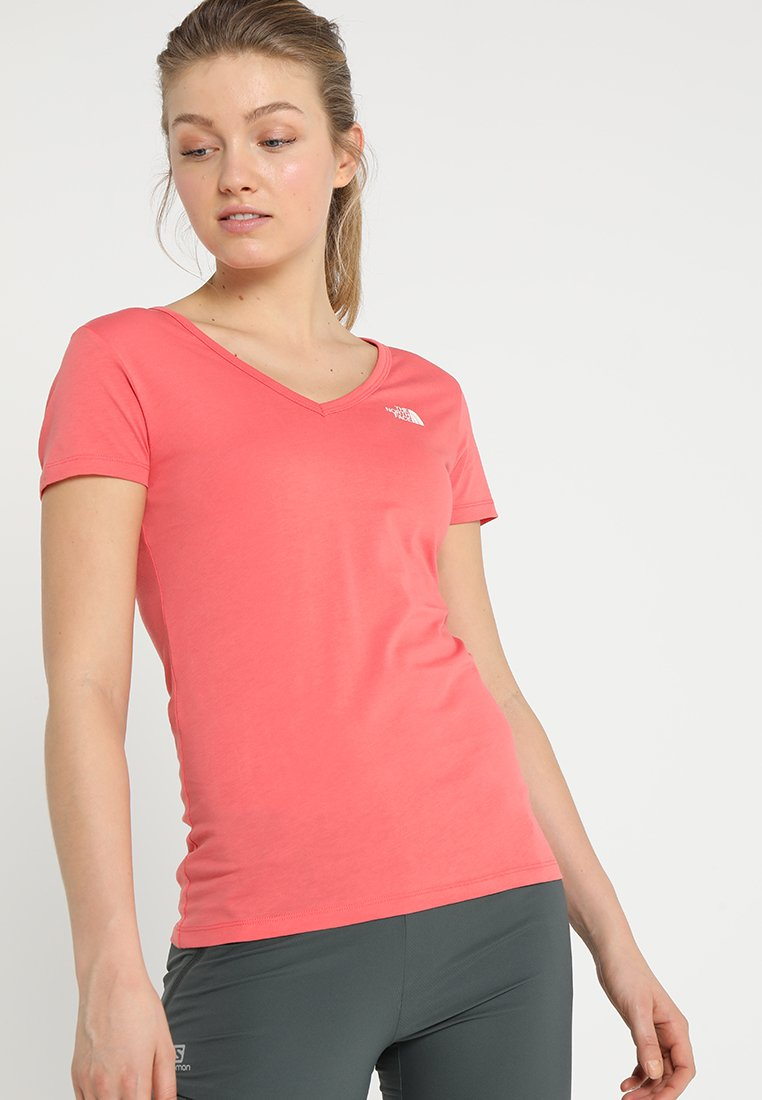 The North Face - SIMPLE DOME TEE - T-shirt basic - spiced coral