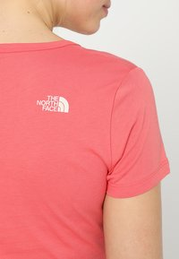 The North Face - SIMPLE DOME TEE - T-shirt basic - spiced coral - 3