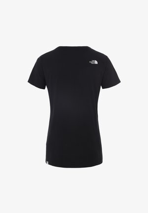 SIMPLE DOME TEE - T-shirt basique - tnf black/tnf white