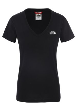 SIMPLE DOME TEE - Basic T-shirt - tnf black/tnf white