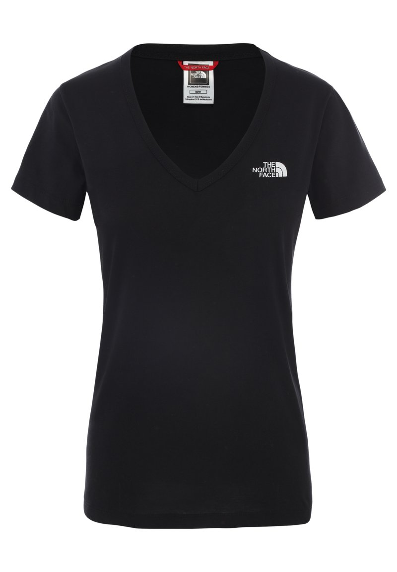 The North Face - SIMPLE DOME TEE - T-shirt basic - tnf black/tnf white