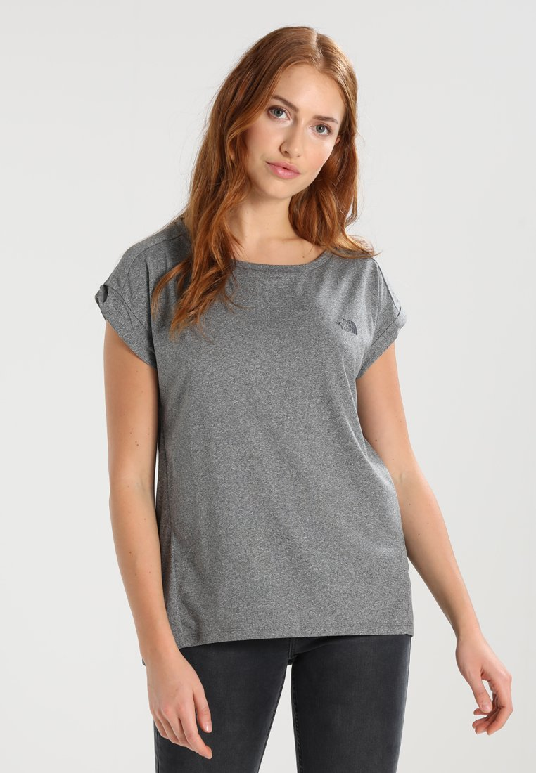 The North Face - TANKEN TANK  - T-Shirt basic - mottled grey/black