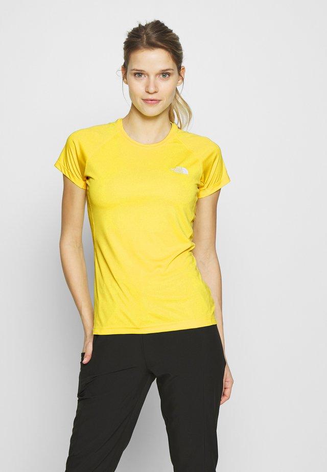 WOMENS FLEX - Camiseta básica - lemon