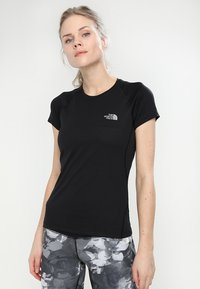 The North Face - WOMENS FLEX - T-Shirt basic - black - 0