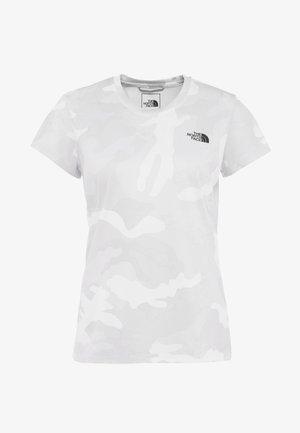 WOMENS REAXION CREW - T-shirts - white