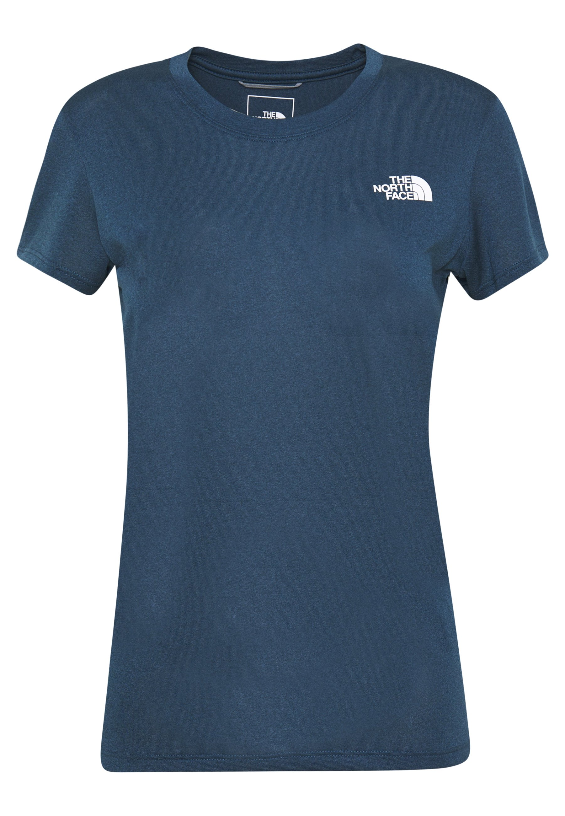 The North Face WOMENS REAXION CREW - T-shirt basic - blue wing teal heather