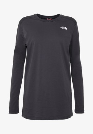 WOMENS SIMPLE DOME TEE - Langarmshirt - asphalt grey