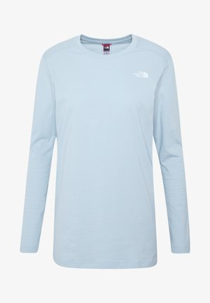WOMENS SIMPLE DOME TEE - Top s dlouhým rukávem - light blue