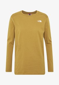 The North Face - WOMENS SIMPLE DOME TEE - Topper langermet - british khaki - 3