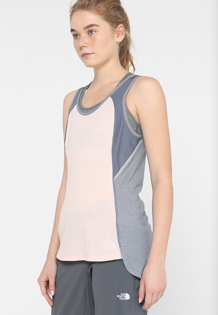 The North Face - INVENE TOP - Top - rose