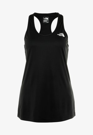 WOMENS FLEX TANK - Sportshirt - black