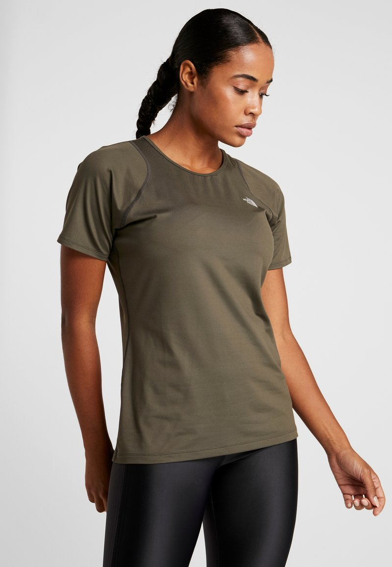 The North Face - AMBITION - T-Shirt print - new taupe green
