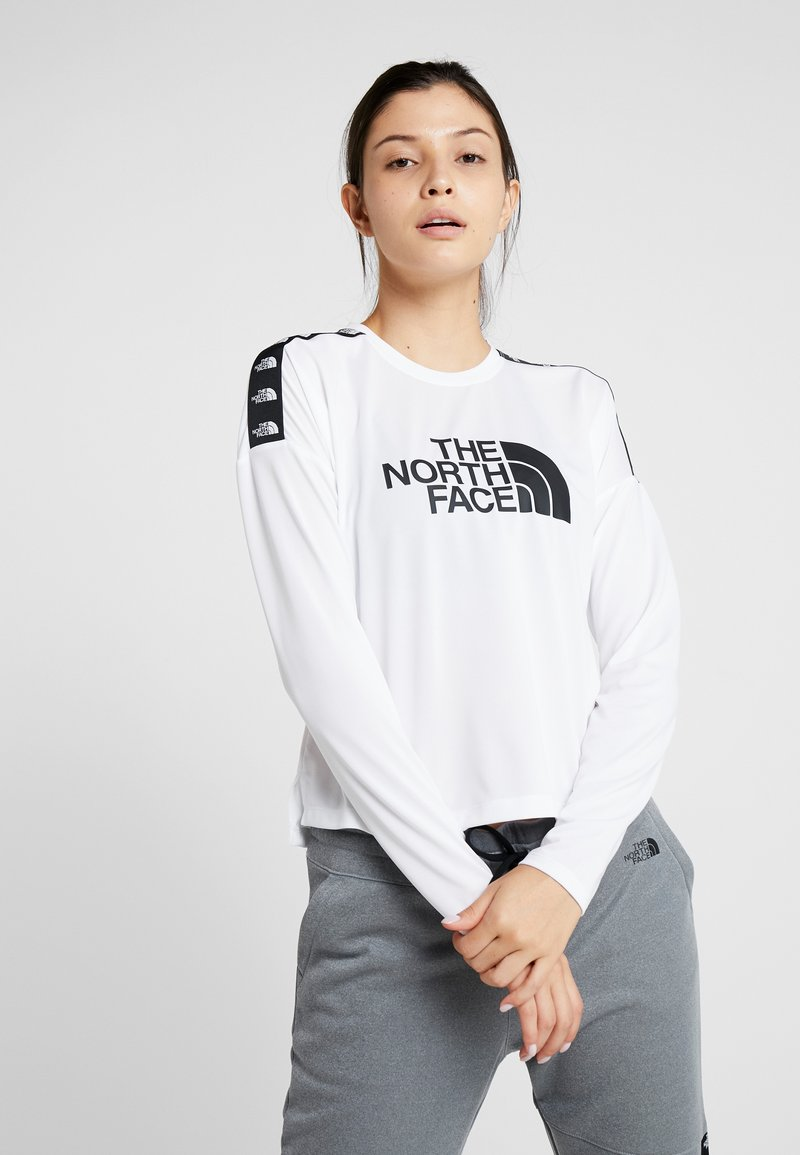 The North Face - CROP - Funktionsshirt - white