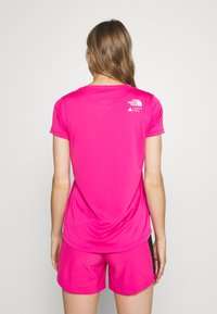 The North Face - GLACIER TEE - Print T-shirt - pink - 2