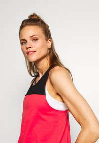 The North Face - WOMENS NORTH DOME TANK - Top - cayenne red/black - 3