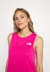 The North Face - WOMENS GLACIER TANK - Sports shirt - mr pink - 0