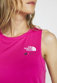 The North Face - WOMENS GLACIER TANK - Sports shirt - mr pink - 5