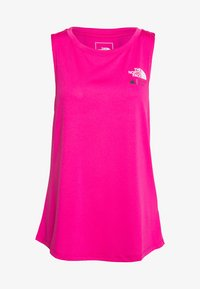 The North Face - WOMENS GLACIER TANK - Sports shirt - mr pink - 4