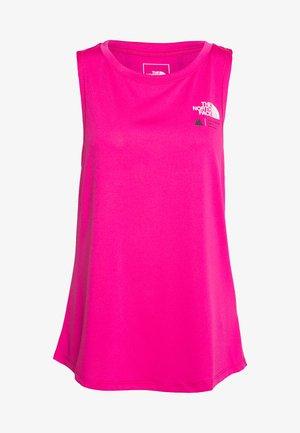 WOMENS GLACIER TANK - Sports shirt - mr pink