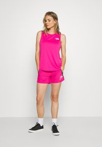 The North Face - WOMENS GLACIER TANK - Sports shirt - mr pink - 1