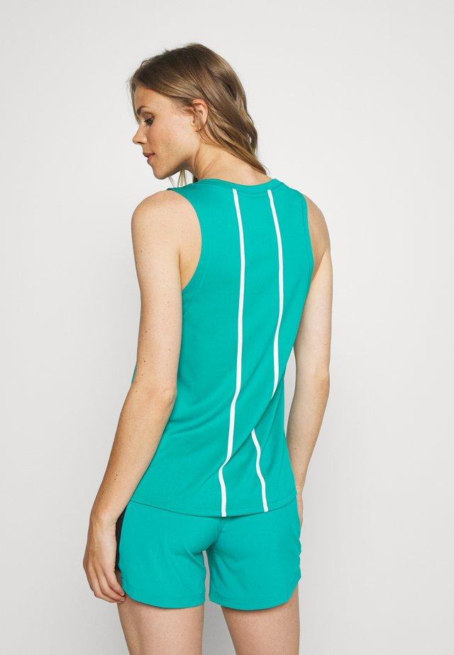 WOMENS GLACIER TANK - Funkční triko - jaiden green