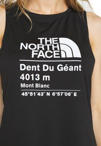 The North Face - WOMENS GLACIER TANK - Sports shirt - black - 5