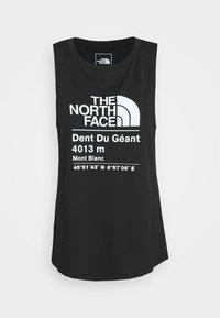 The North Face - WOMENS GLACIER TANK - Sports shirt - black - 4