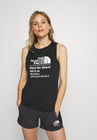 The North Face - WOMENS GLACIER TANK - Sports shirt - black - 0