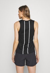 The North Face - WOMENS GLACIER TANK - Sports shirt - black - 2