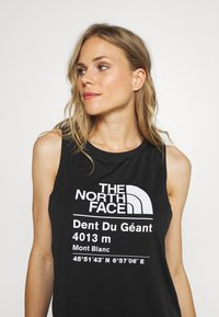 The North Face - WOMENS GLACIER TANK - Sports shirt - black - 3