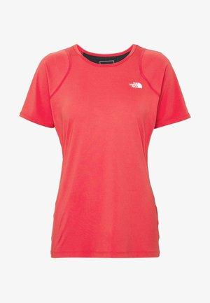 AMBITION  - Print T-shirt - cayenne red