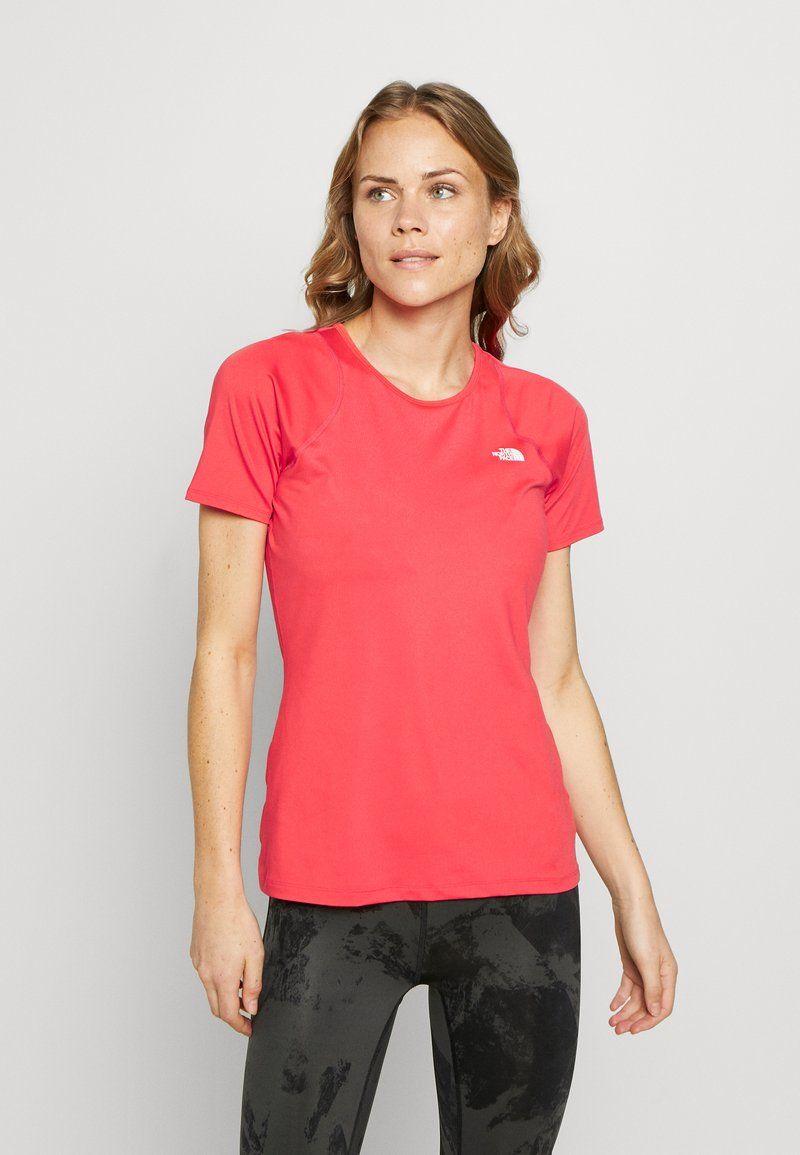The North Face - AMBITION  - Print T-shirt - cayenne red