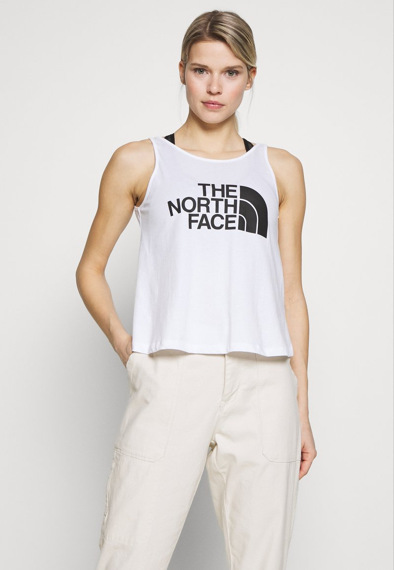 The North Face - EASY TANK - Top - white/multi