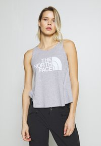 The North Face - EASY TANK - Topper - light grey heather - 0