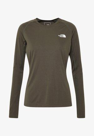 WOMENS FLEX - Sportshirt - new taupe green