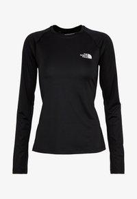 The North Face - WOMENS FLEX - Sports shirt - black - 3