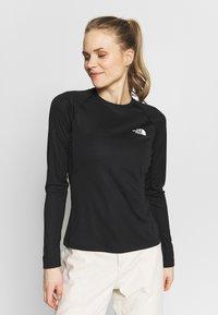 The North Face - WOMENS FLEX - Sports shirt - black - 0