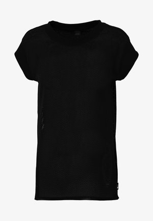 WOMENS ACTIVE TRAIL - Print T-shirt - black