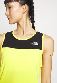 The North Face - WOMENS ACTIVE TRAIL TANK - Camiseta de deporte - lemon - 5