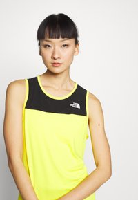 The North Face - WOMENS ACTIVE TRAIL TANK - Camiseta de deporte - lemon - 3