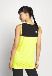 The North Face - WOMENS ACTIVE TRAIL TANK - Camiseta de deporte - lemon - 2