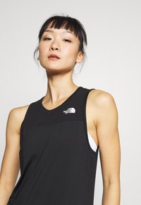 The North Face - WOMENS ACTIVE TRAIL TANK - Sportshirt - black - 3