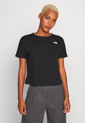 WOMEN'S NORTH DOME - T-shirt z nadrukiem - black
