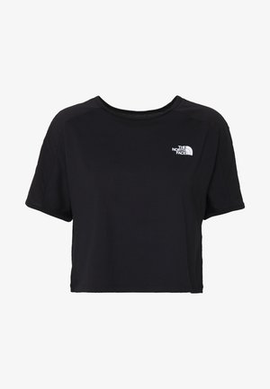 WOMENS ACTIVE TRAIL - T-shirts med print - black