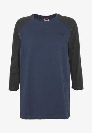 WOMENS CORREIA TEE - Bluzka z długim rękawem - blue wing teal